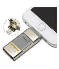 Microsys MC8S 32GB USB 2.0 OTG Pendrive Silver