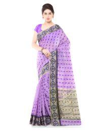 Varkala Silk Sarees Lavender Chanderi Saree