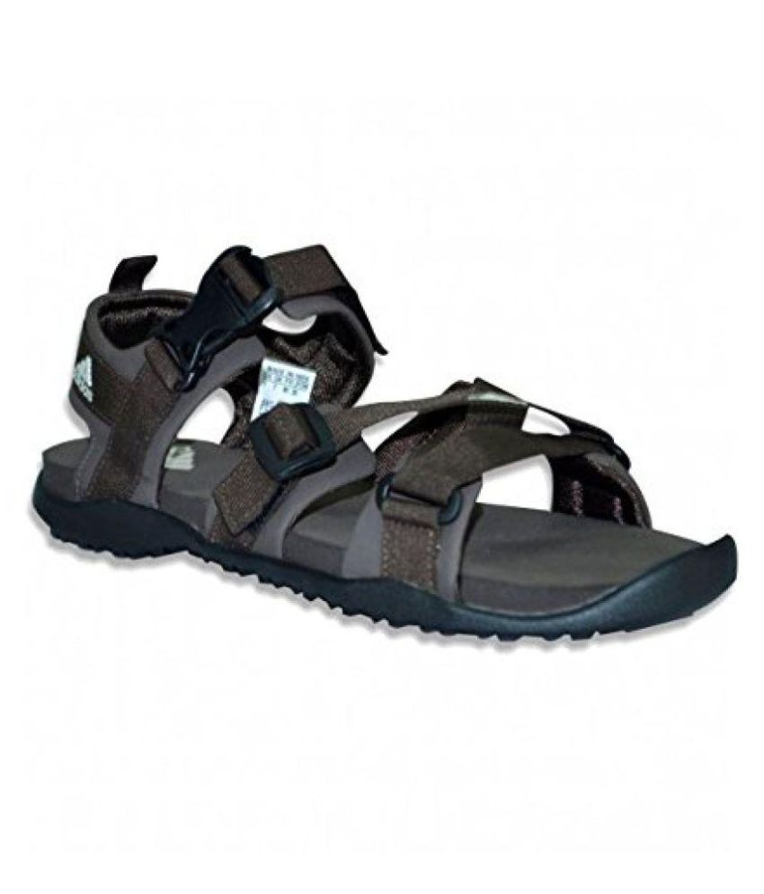 aa7a32ca7fbec Adidas Gladi Brown Floater Sandals - Buy Adidas Gladi Brown Floater ...
