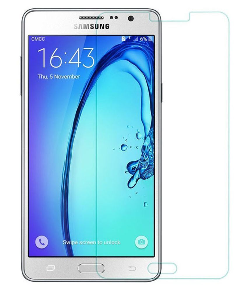 Samsung Galaxy On5 Tempered Glass Screen Guard By Hook