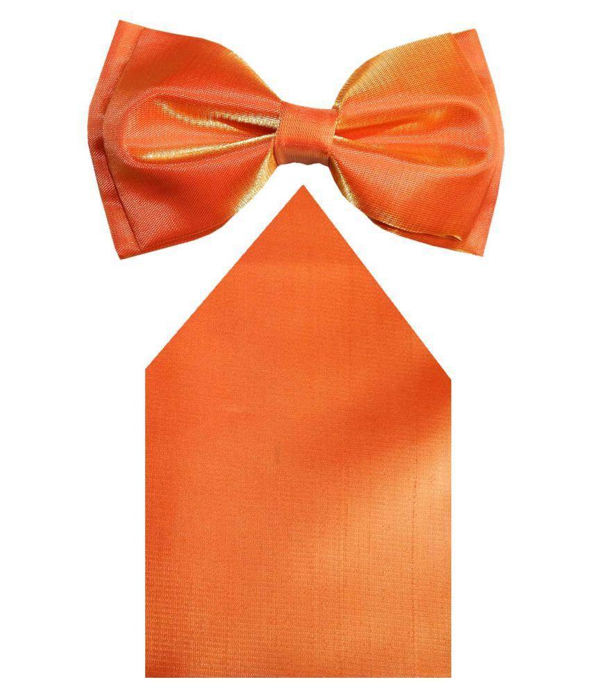 Navaksha Orange Formal Necktie