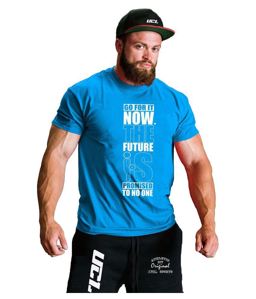 UCL Blue Round T-Shirt