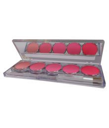 Kiss Beauty Good Choice Free Kajal With Pressed Powder Blush Multicolour 16 Gm