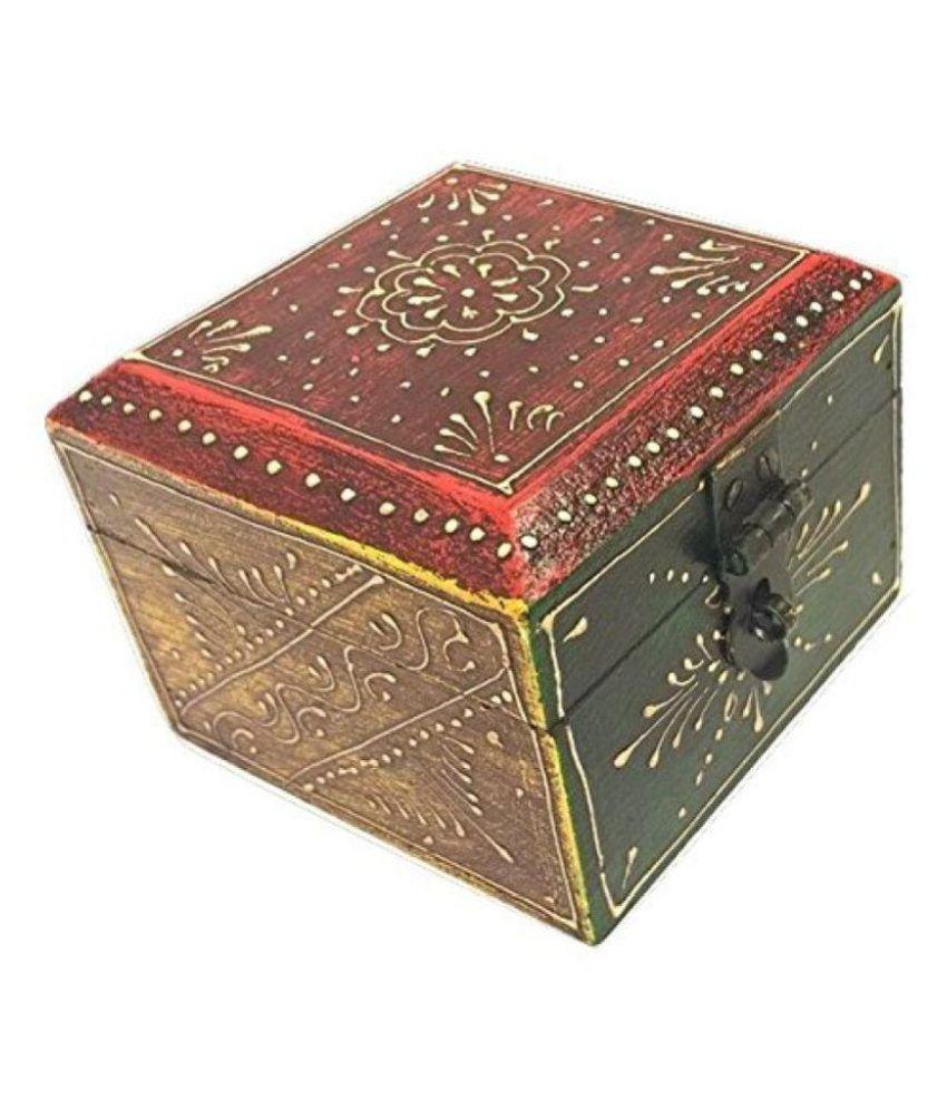 Elegant Wooden Jewellery Box