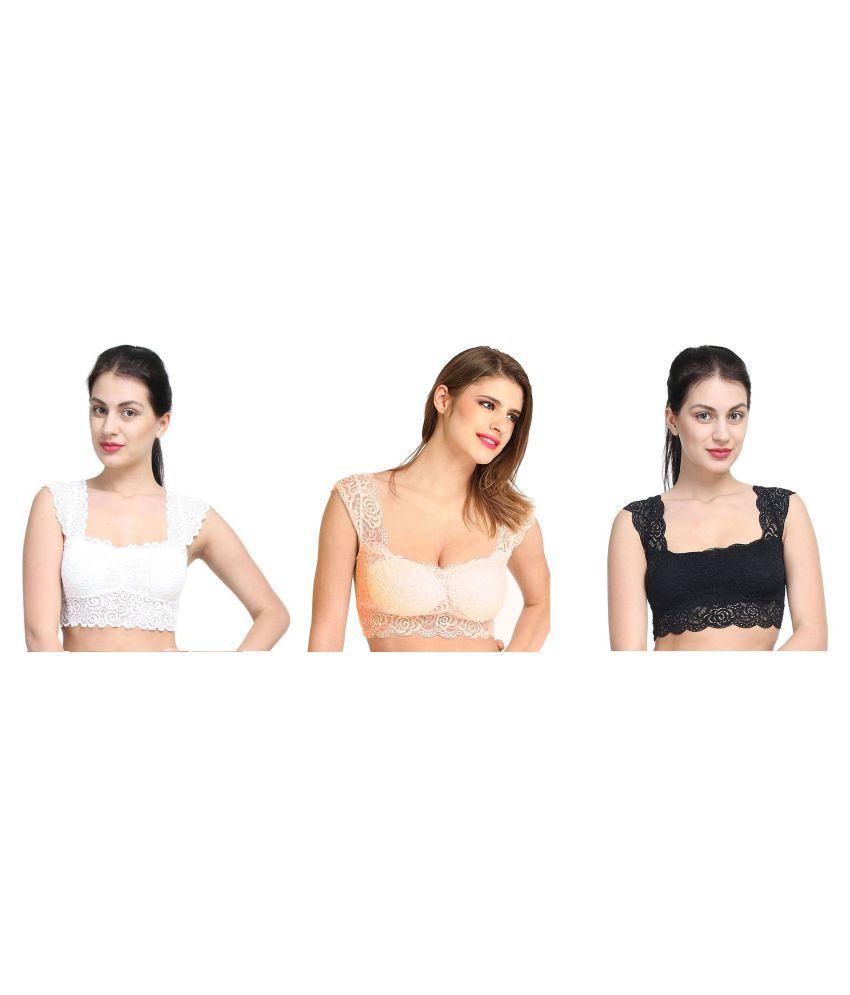 Gopalvilla White Lace Bralette