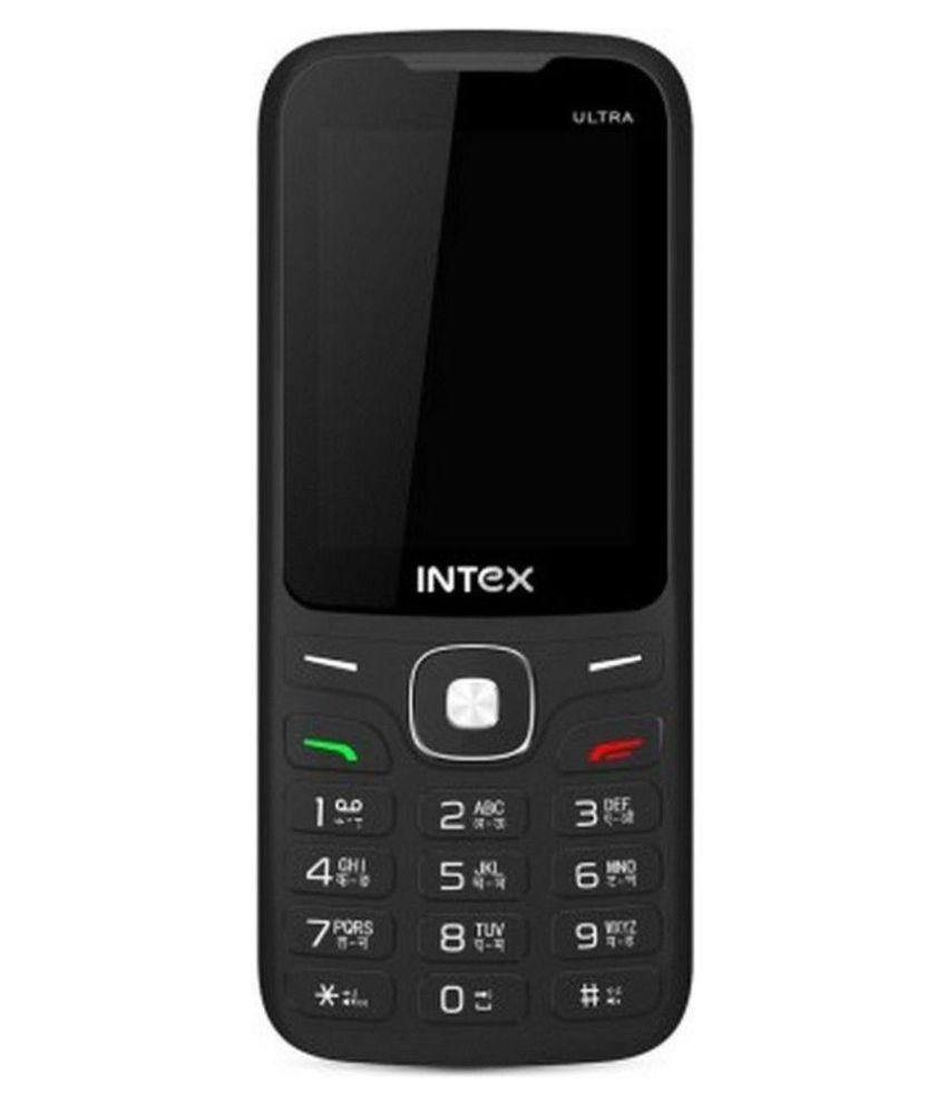 Intex Ultra 3000 4GB and Below Black Red