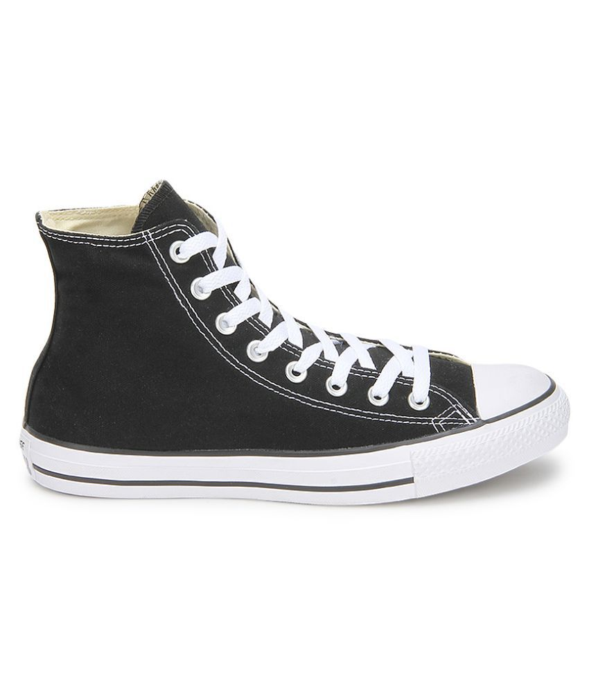 cacf82c3 ... Converse All Star 150756CCTHI High Ankle Sneakers Black Casual Shoes ...
