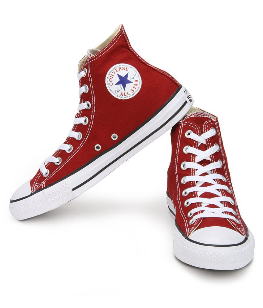 76f3ebb69a1 Converse All Star 150773CCTHI High Ankle Sneakers Red Casual Shoes - Buy Converse  All Star 150773CCTHI High Ankle Sneakers Red Casual Shoes Online at Best ...