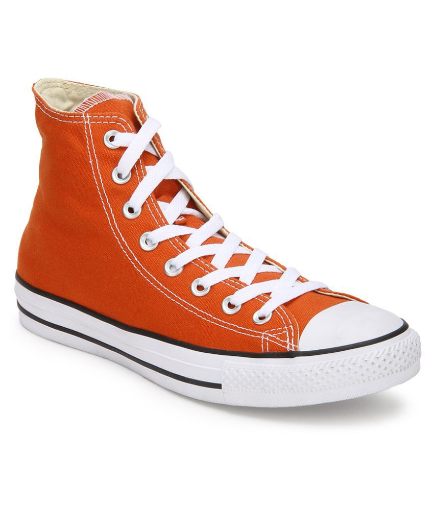 29588cf058e Converse Sneakers Orange Casual Shoes Converse Sneakers Orange Casual Shoes  ...