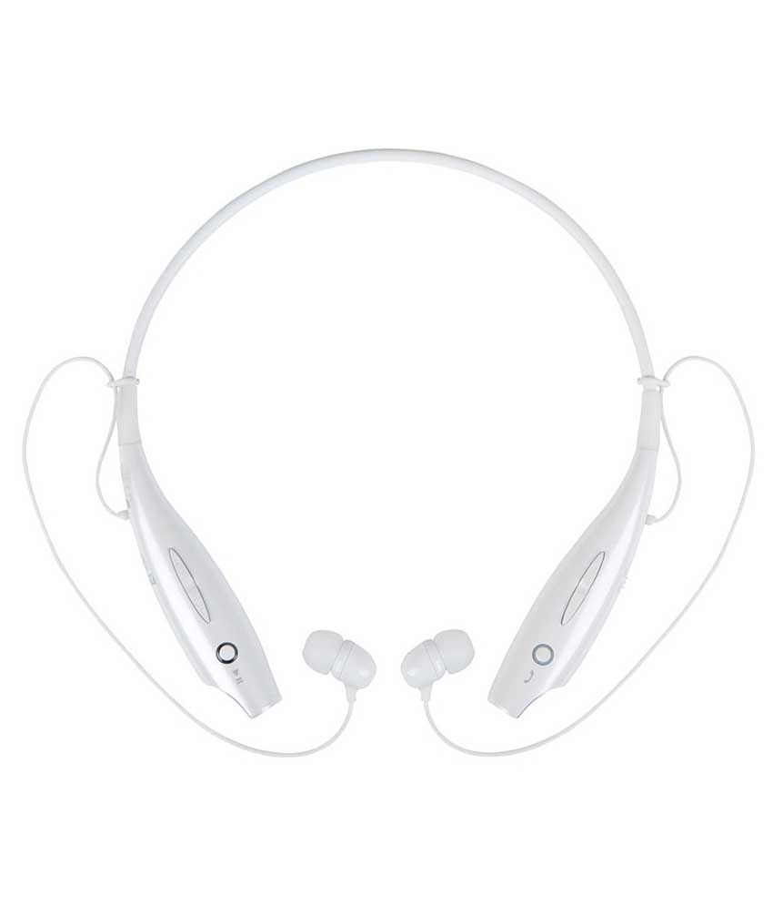 Jiyanshi Samsung Galaxy Note Edge Wireless Bluetooth Headphone White
