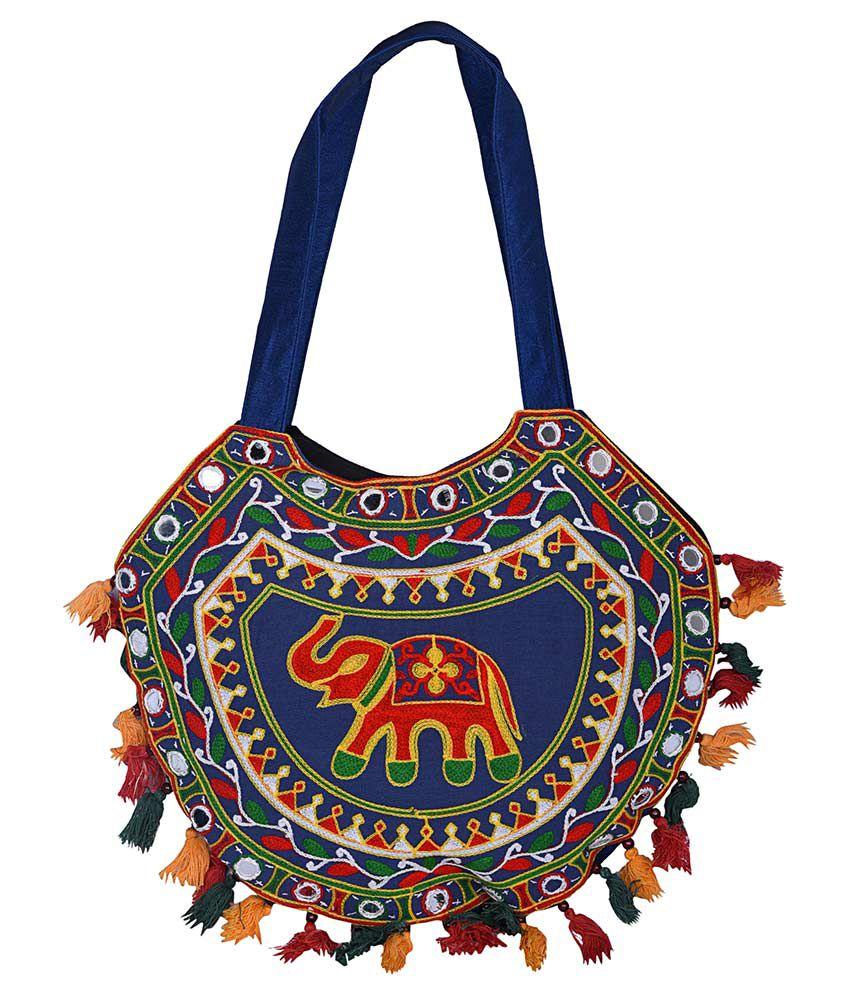 Magnus Multi Cotton Shoulder Bag