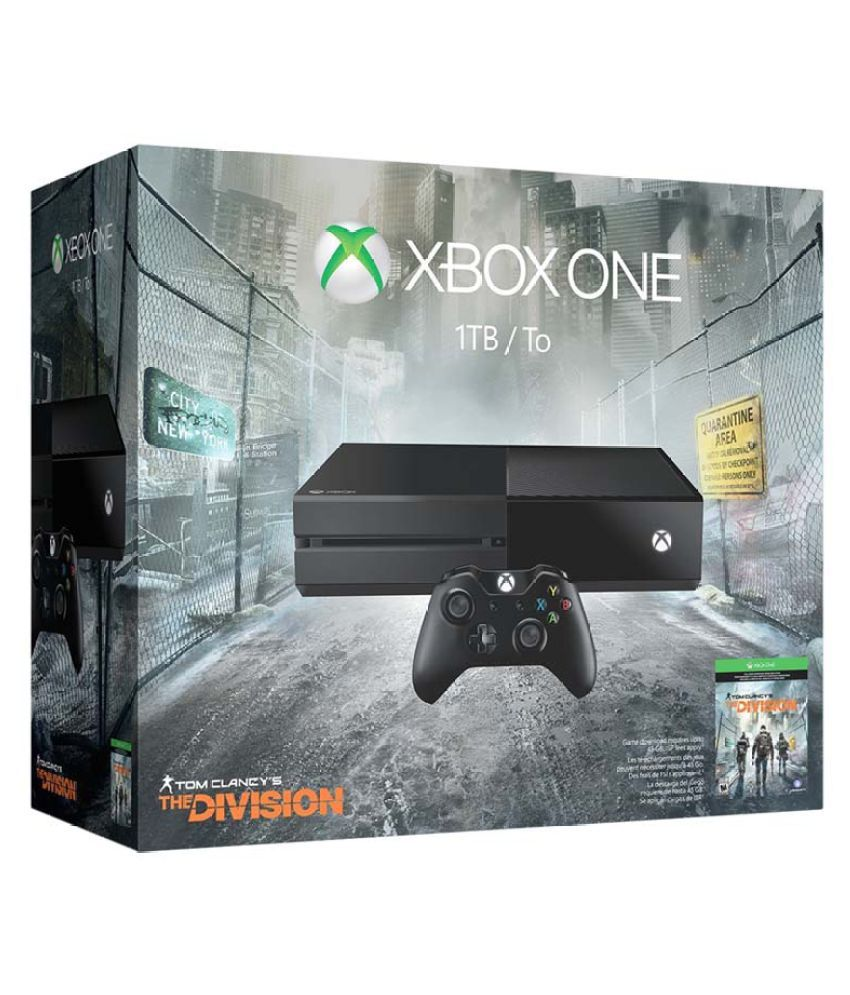 Microsoft Xbox One 1TB Console ( Tom Clancy's The Division )