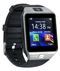 Innotek DZ09 Bluetooth 3.0 Smartwatch-Silver