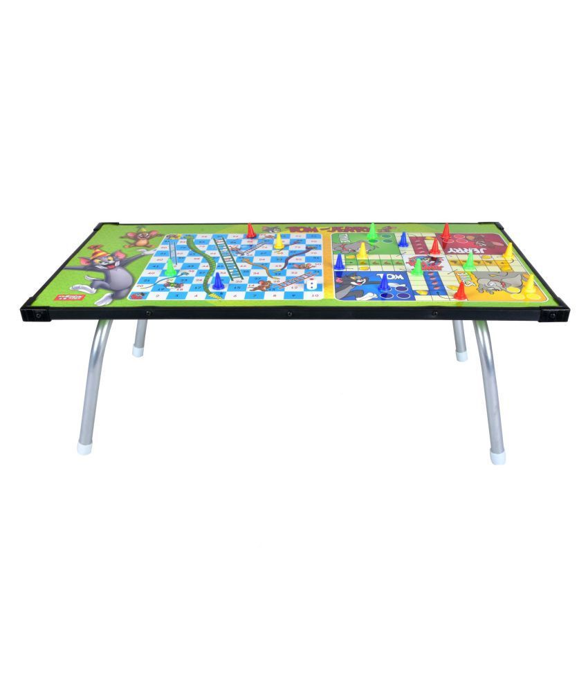 Terrific Tom Jerry Multipurpose Gaming Table With Ludo Slides Ladders Game Home Interior And Landscaping Elinuenasavecom