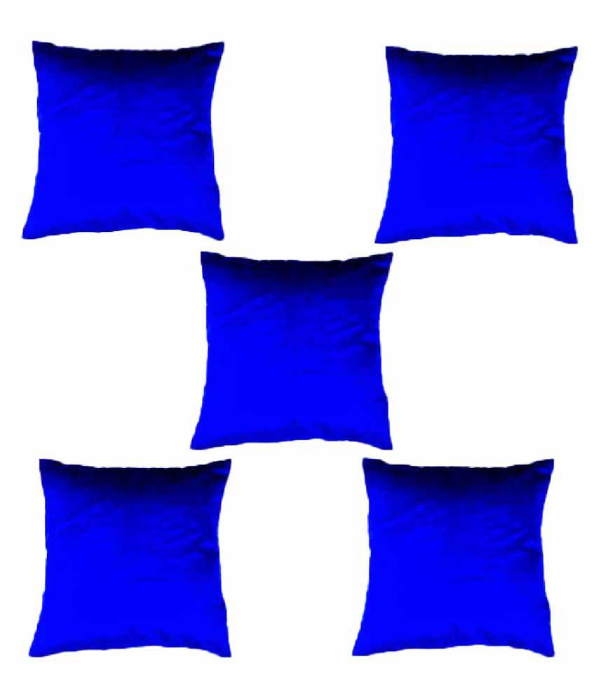 Chandra Impex Set of 5 Velvet Cushion Covers