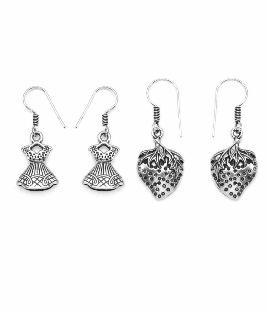 Johareez Silver Drops - Set of 2