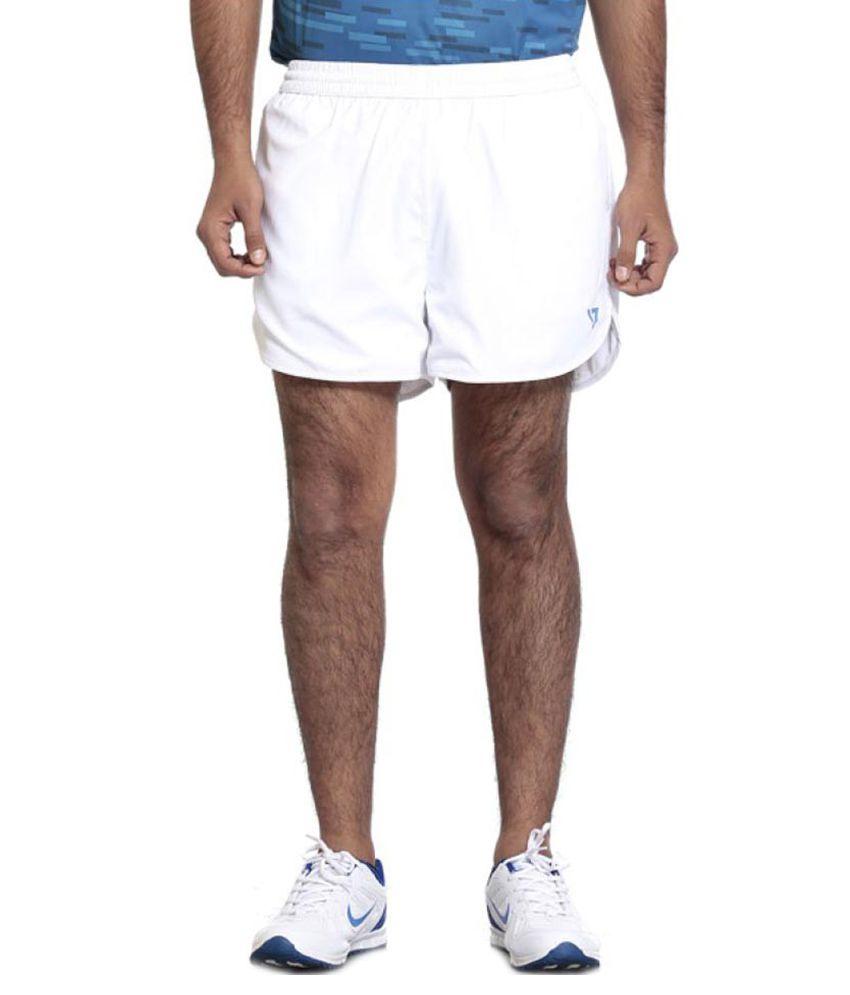 Seven White 100% Polyester Shorts