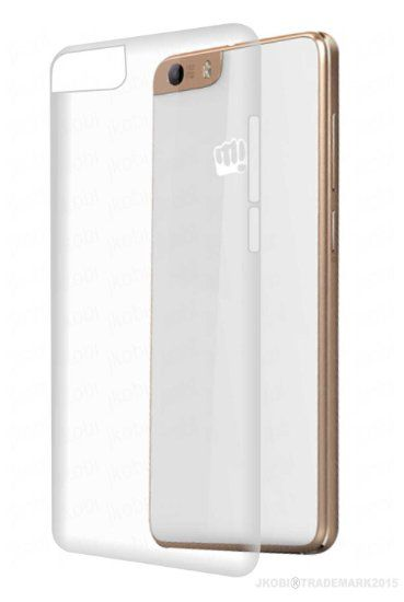new style 92b67 a0600 Micromax Canvas Knight 2 E471 Cover by BEST U BUY - Transparent
