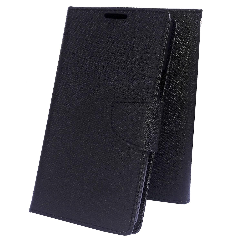Xiaomi Mi4i MZB4300IN Flip Cover by Moblo - Black
