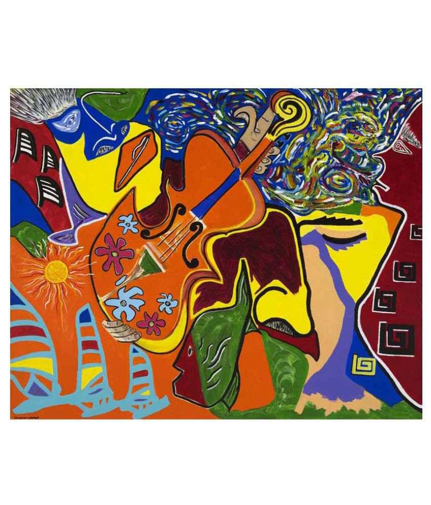 Tallenge Musical Dreams Canvas Art Prints Without Frame Single Piece