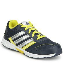 Adidas Blue & Yellow A FAITO LT LACE K Sports Shoes