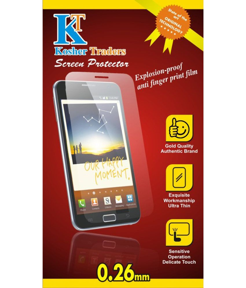 Micromax Canvas Silver 5 Tempered Glass Screen Guard By Kosher Traders