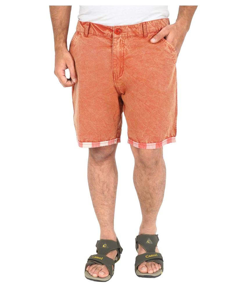 C.U.B Orange Shorts