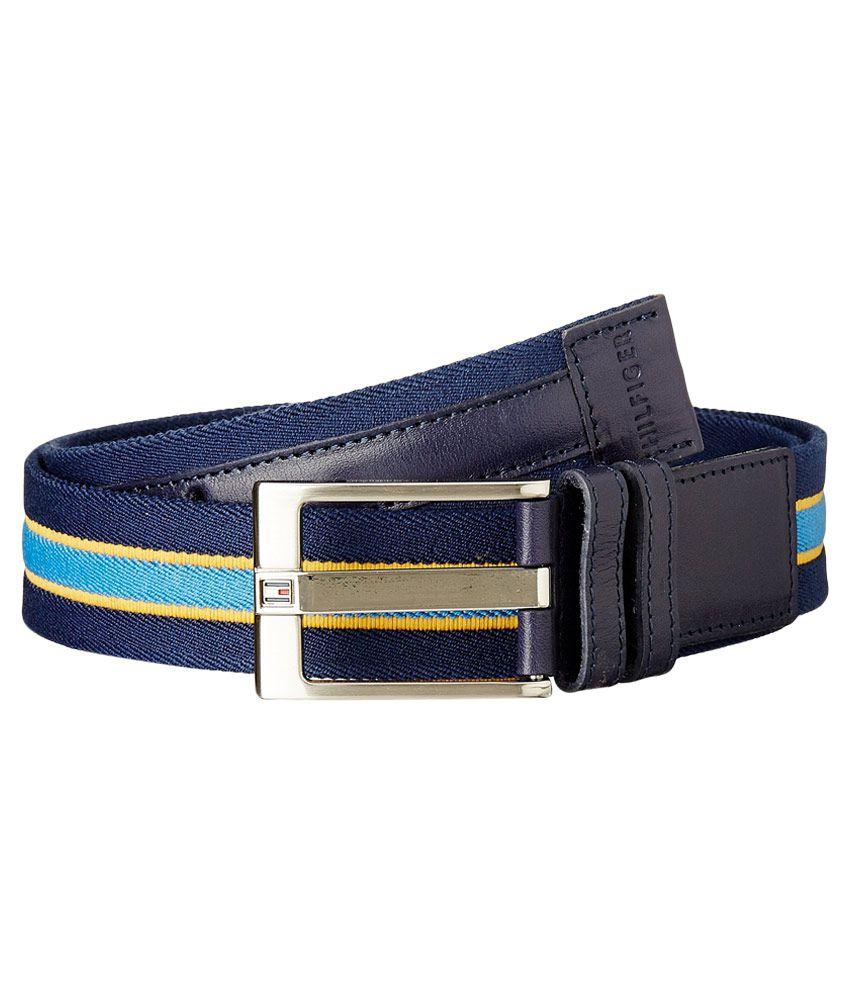 Tommy Hilfiger Multi Canvas Belt For Men