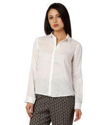Oxolloxo White Viscose Shirt
