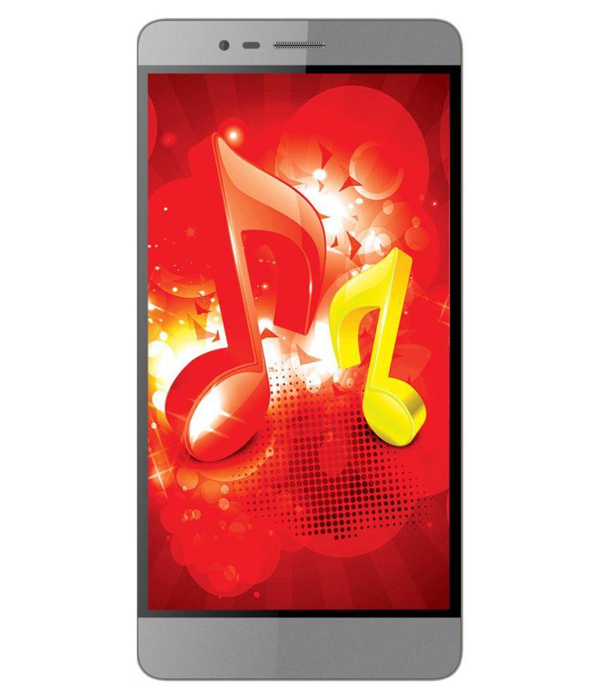 Intex Aqua Music ( 16GB , 2 GB ) Gray