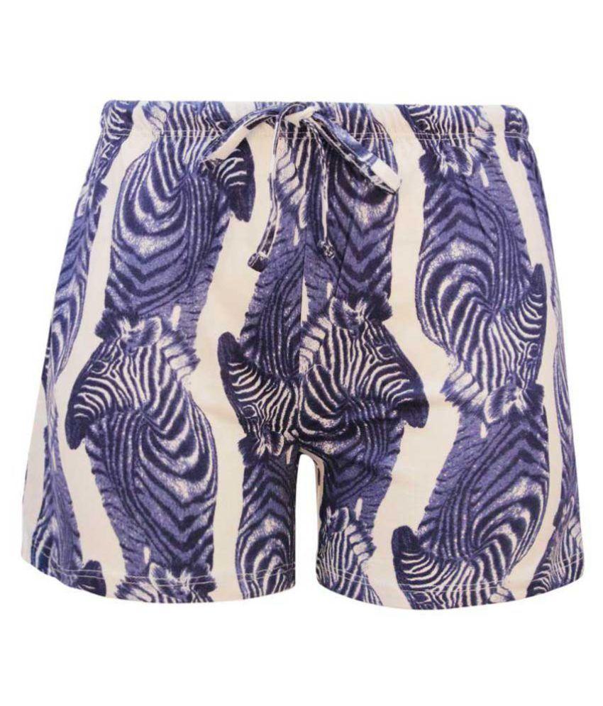 Kothari Multicolour Cotton Shorts