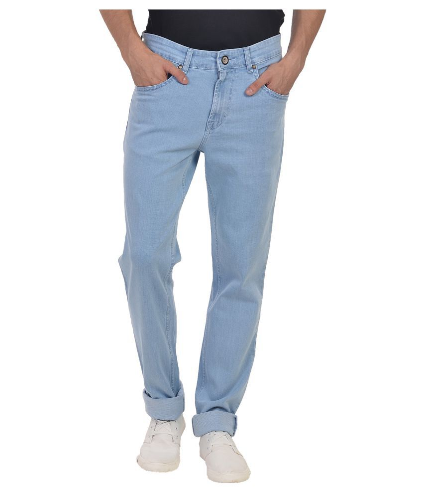 Wert Jeans Blue Slim Solid