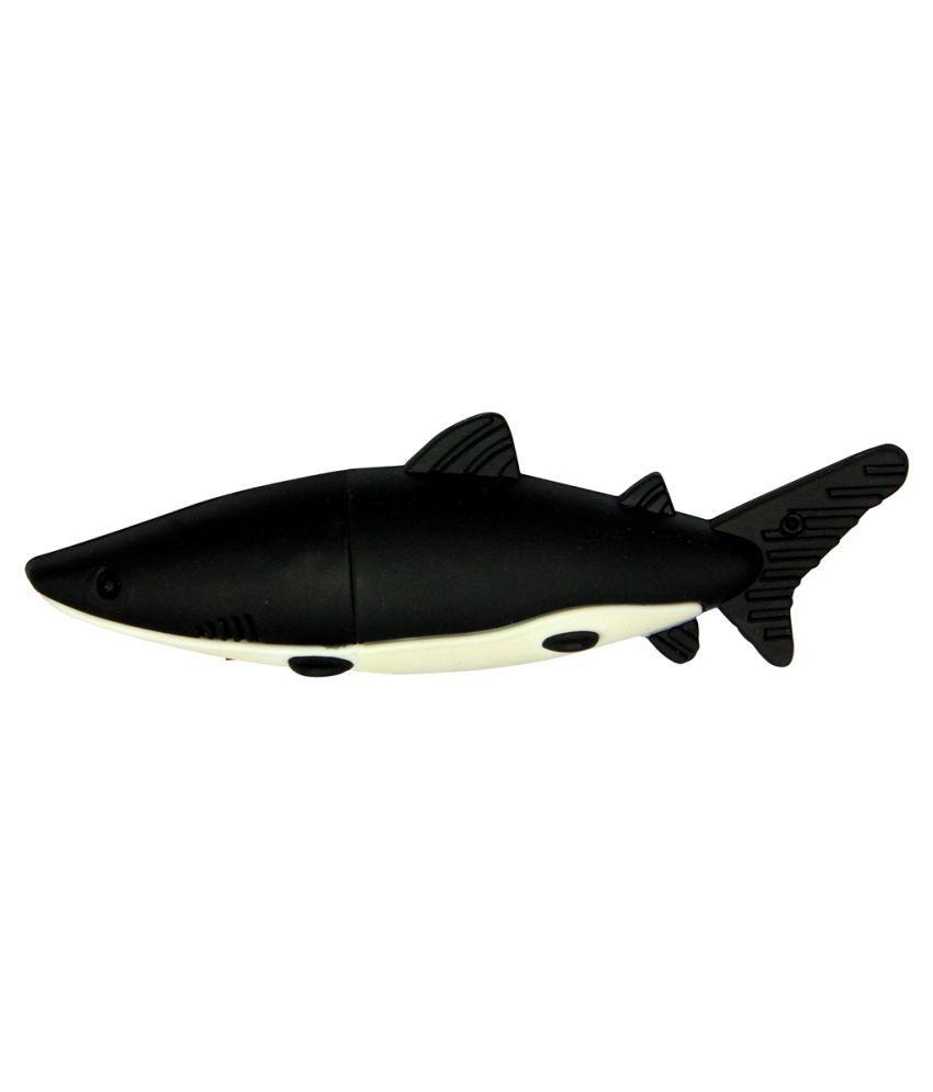 Zeztee Dolphin Shape ZTRBPD14056_BK 16GB USB 2.0 Fancy Pendrive Black