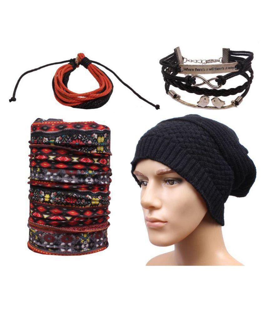 Sushito Multi Plain Wool Caps