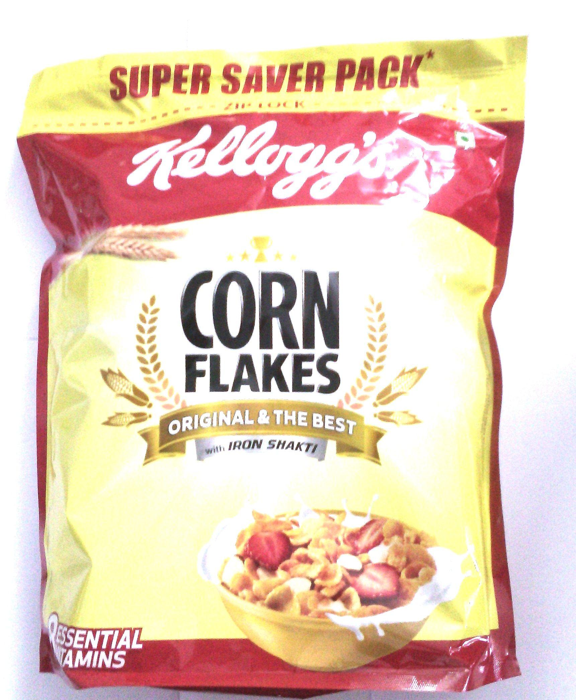 kellogg corn flakes 875 gm pouch kellogg corn flakes 875 gm