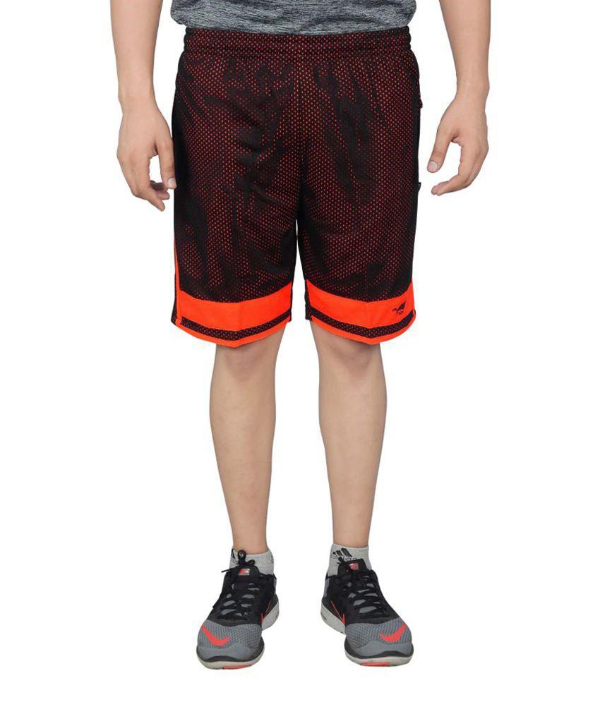 NNN Multicolor Knee Length Dry Fit Men's Shorts
