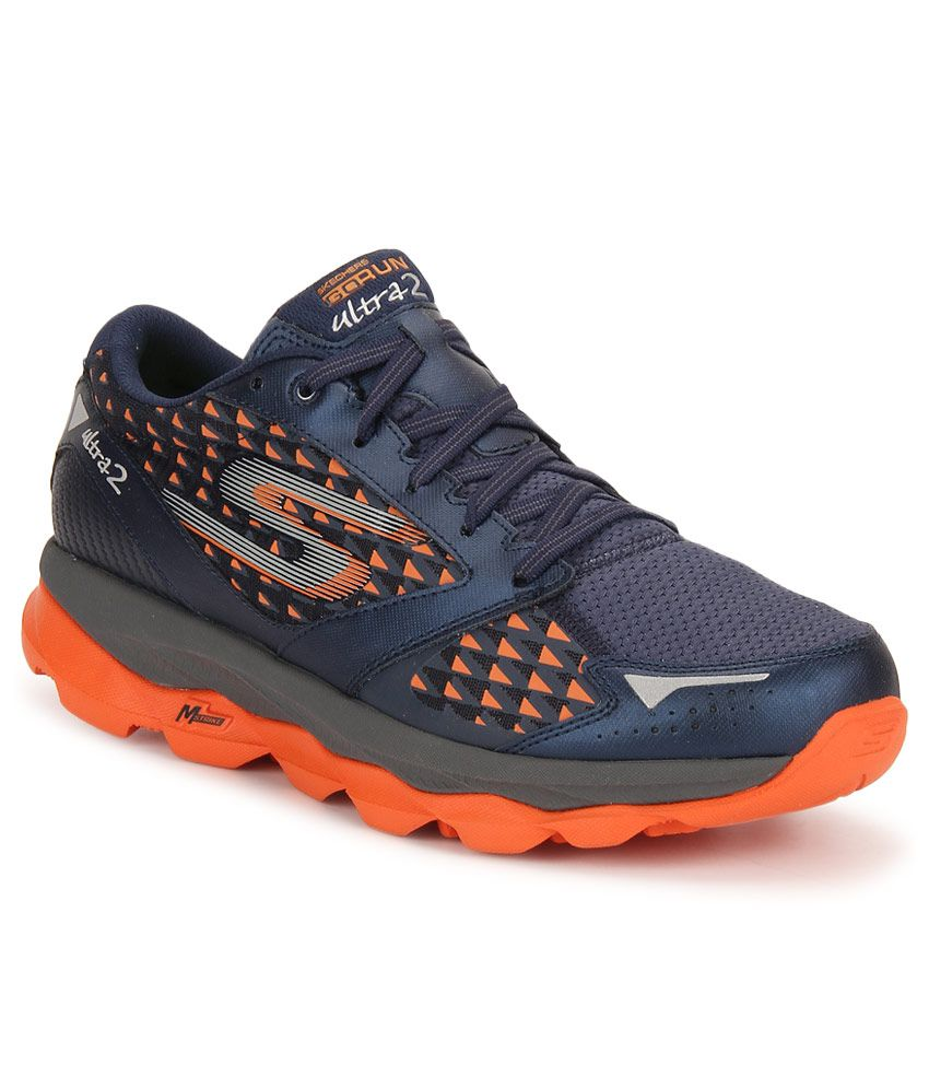 Skechers Go Run Ultra 2 Navy Running Sports Shoes - Buy Skechers Go Run  Ultra 2 Navy Running Sports Shoes Online at Best Prices in India on Snapdeal 73bcd30c6