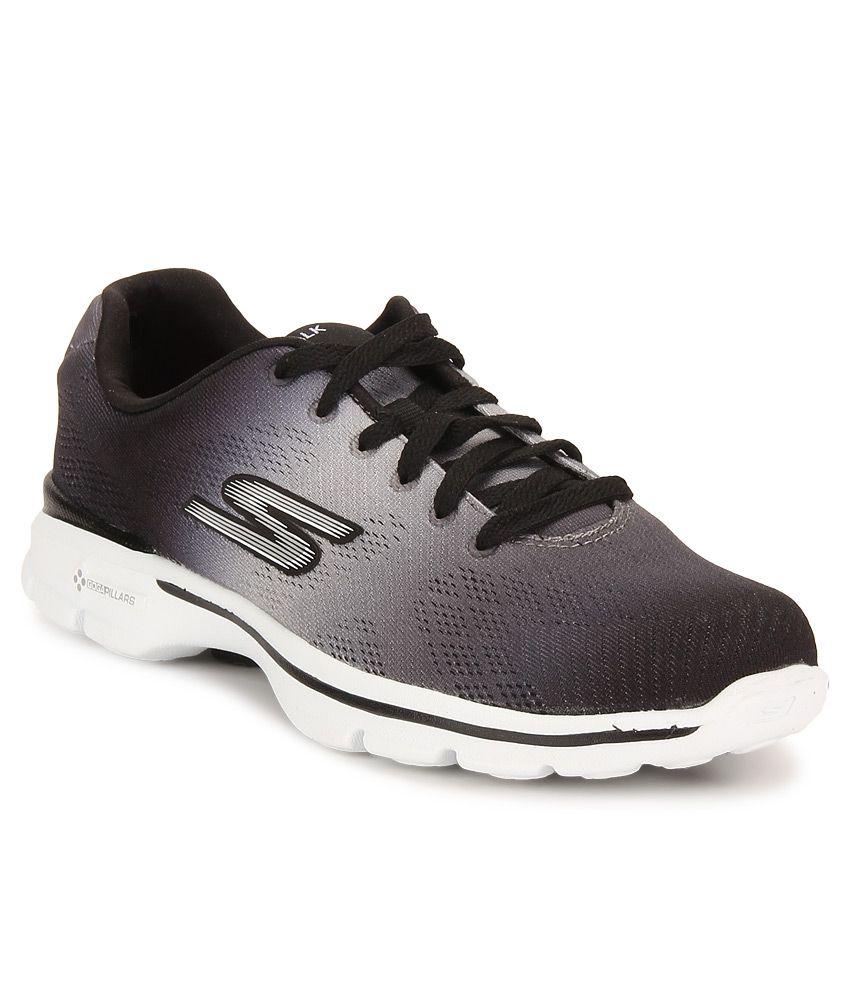 e2a487a093f Skechers Go Walk 3 - Pulse Multi Color Sports Shoes Price in India- Buy  Skechers Go Walk 3 - Pulse Multi Color Sports Shoes Online at Snapdeal
