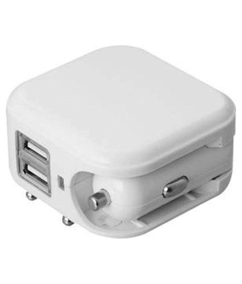 Happiesta Innovative Plastic Muti-color Multipurpose Car charger