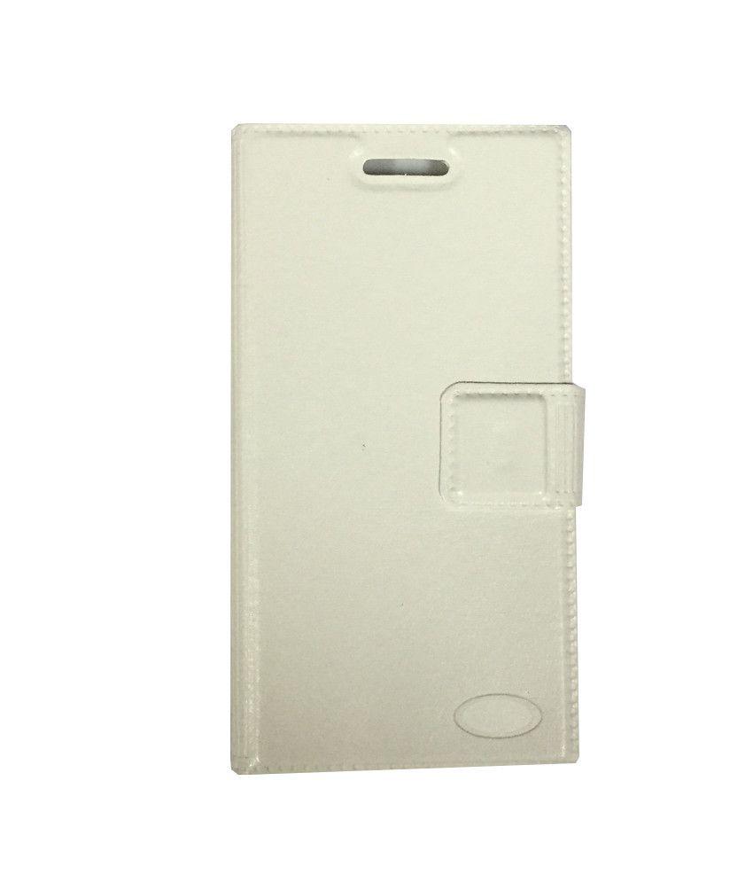 InFocus M350 Flip Cover by Zocardo - White