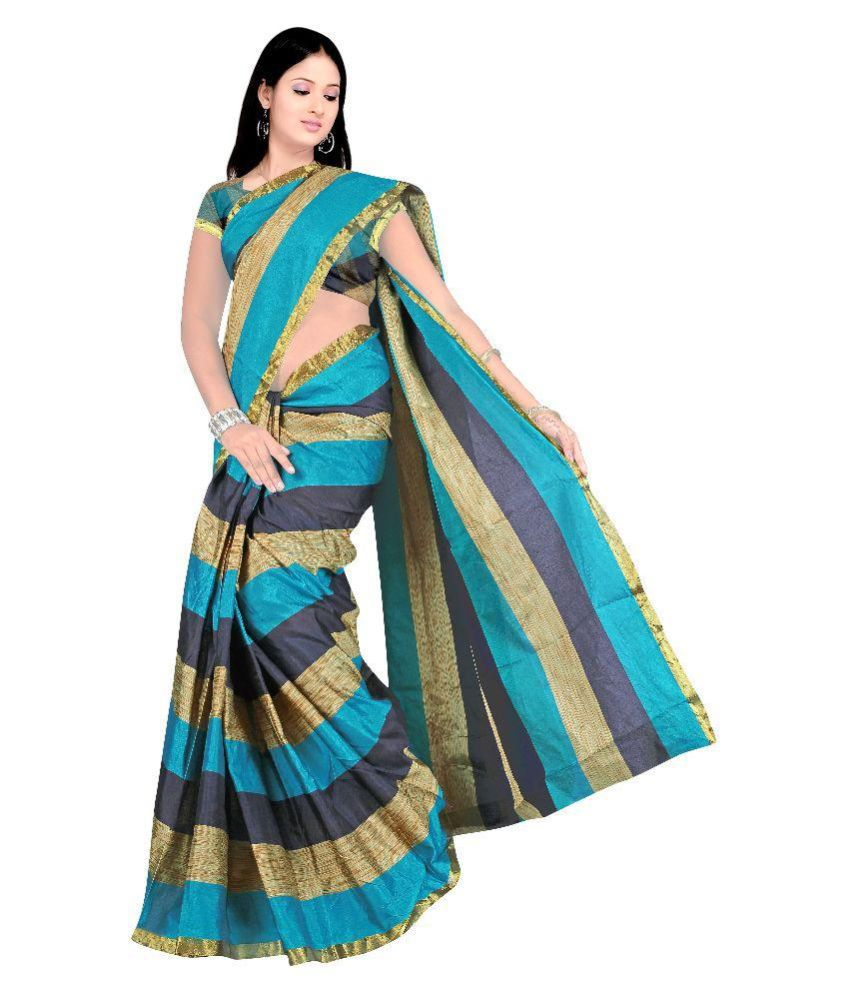 d394b4e0e 7 Brothers Multicoloured Cotton Silk Saree Combos - Buy 7 Brothers ...