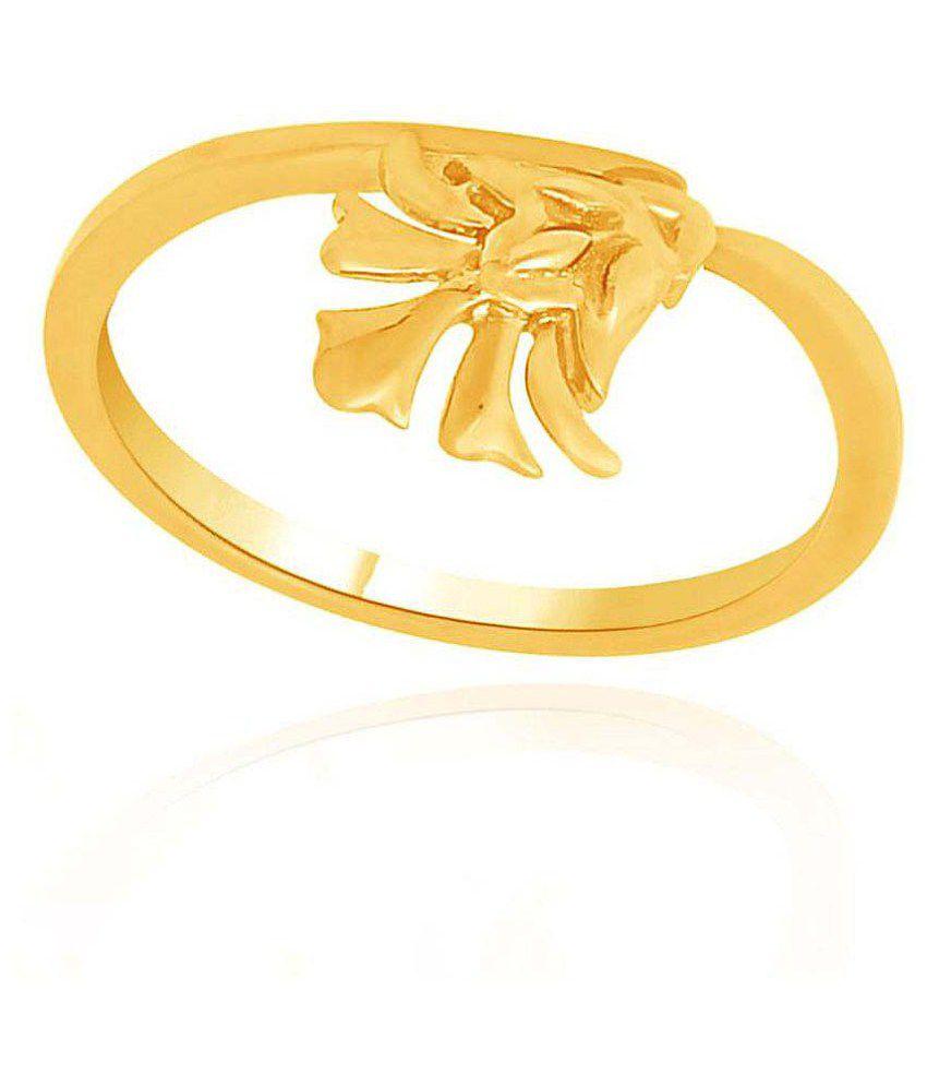 Maya Gold 22k Gold Ring