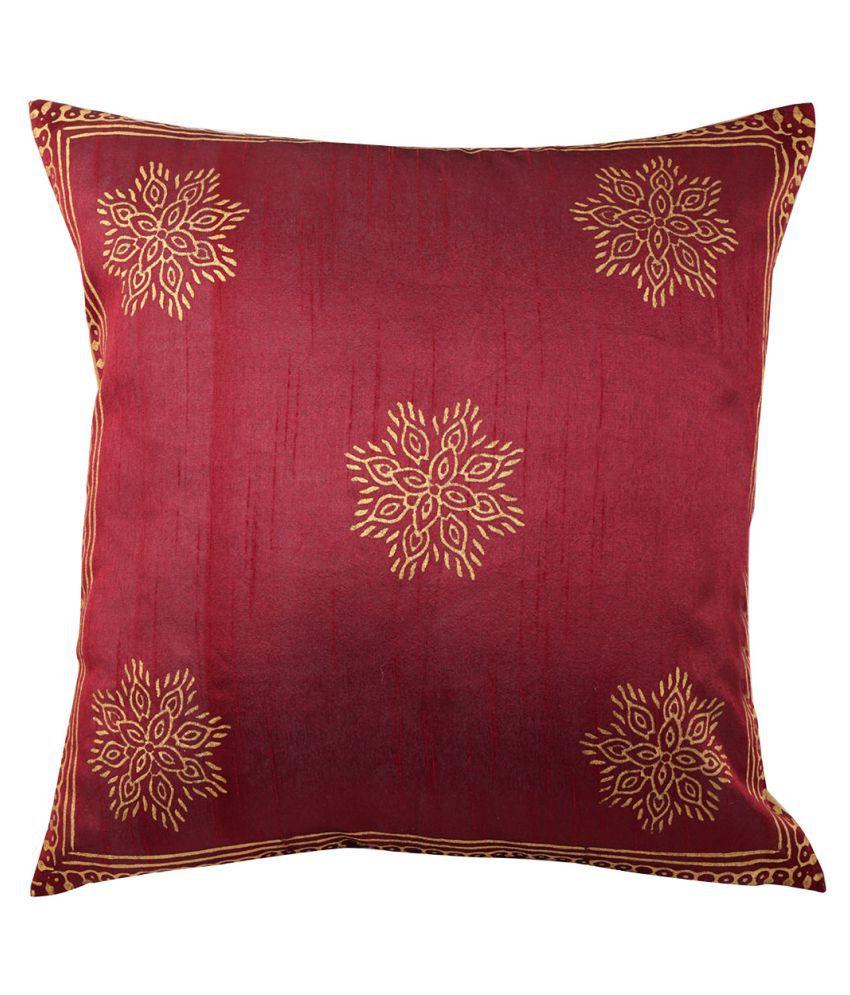 Rajrang Single Poly Dupion Cushion Covers