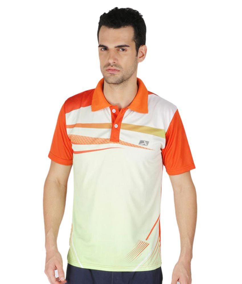 Vector X Multicolour Polyester Polo T-Shirt