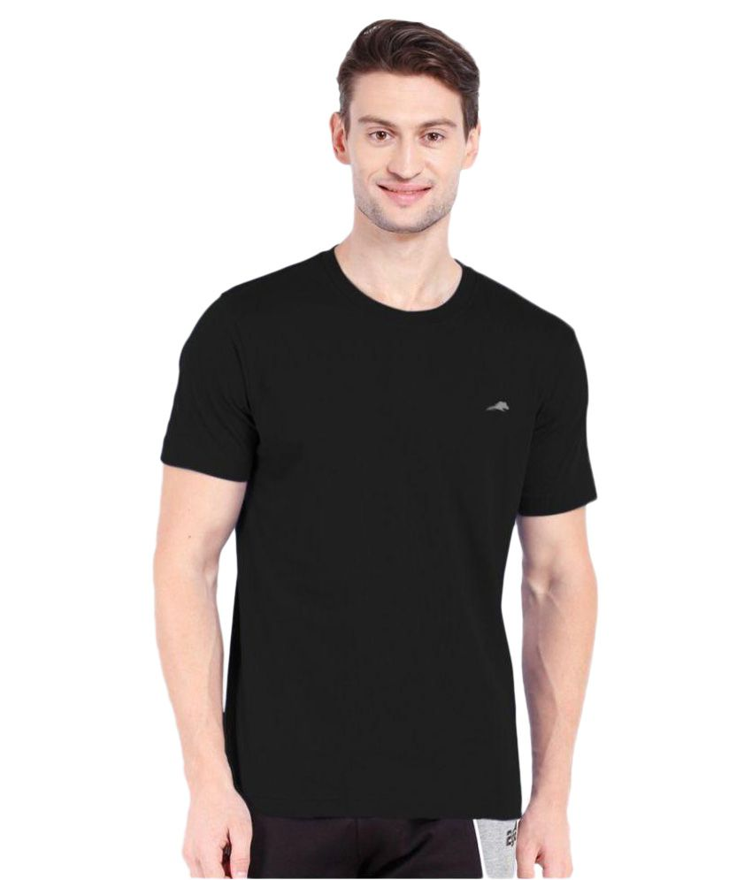 2go Black Round T-Shirt