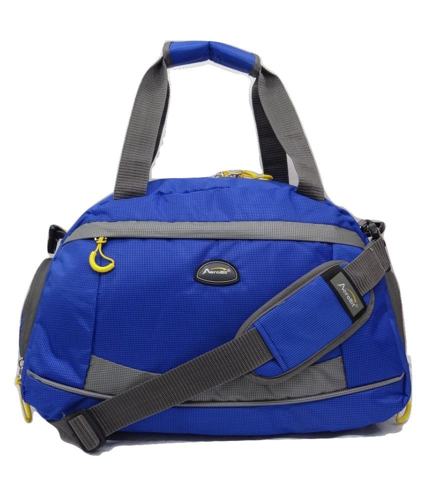 Aerollit Blue Gym Bag
