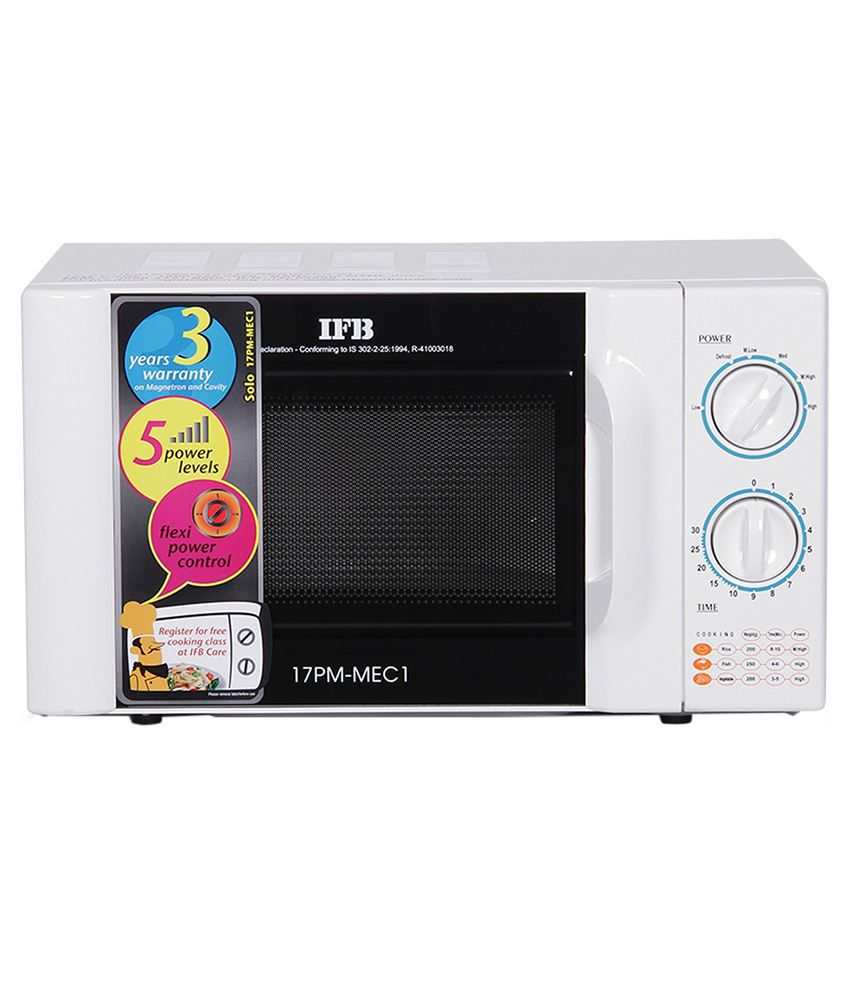 Ifb 17 Ltr 17pm Mec1 Solo Microwave Price In India Buy