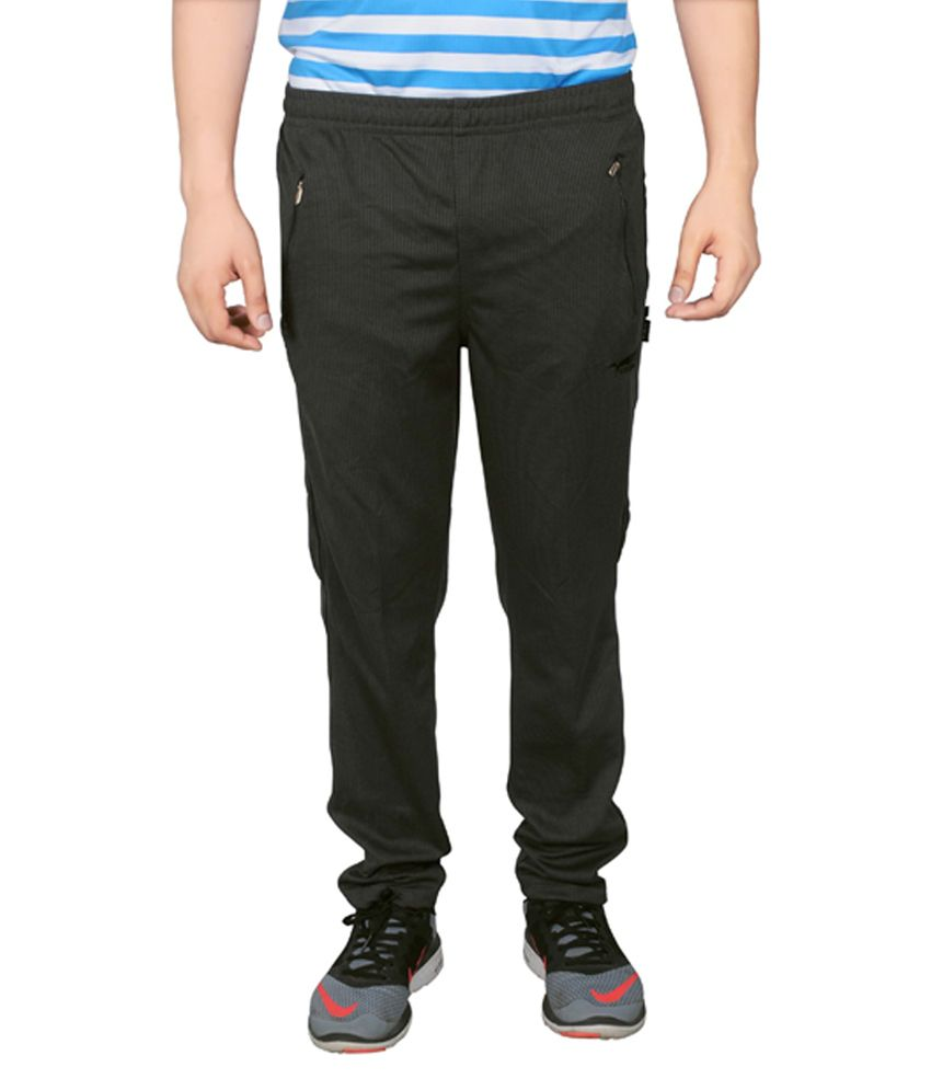 NNN Dark Grey Full Length Dry Fit Men's Track Pant