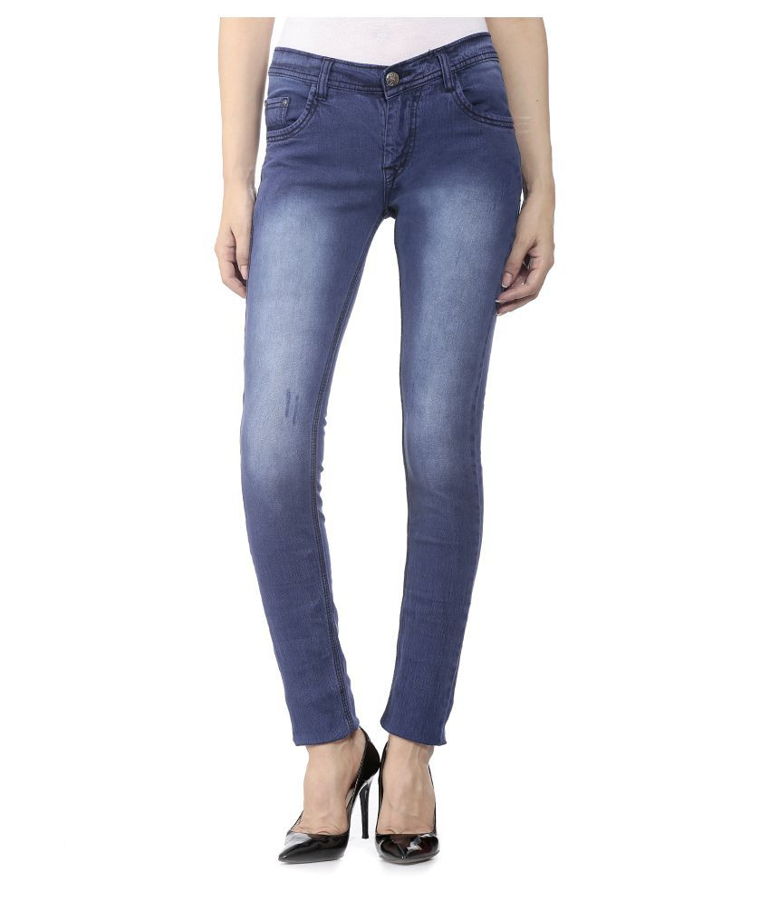 Buy Flyjohn Blue Denim Jeans Online at Best Prices in India - Snapdeal