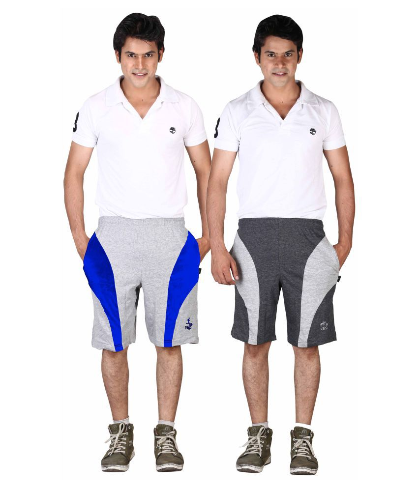 Vego Multi Shorts Pack of 2
